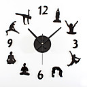 cheap RC Parts & Accessories-Wall Clock,Modern Contemporary Retro Acrylic Metal Round Indoor / Outdoor