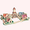 cheap Models & Model Kits-Wooden Puzzle Famous buildings / Chinese Architecture / House Professional Level Wooden 1pcs Romantic Kid's Boys' Gift