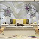 abordables Murales-Art Decó 3D Decoración hogareña Clásico Revestimiento de pared, Lona Material adhesiva requerida Mural, Revestimiento de paredes de