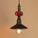 abordables Lámparas Colgantes-Lámparas Colgantes Luz Downlight - Mini Estilo Los diseñadores, Rústico / Campestre Vintage Campestre, 110-120V 220-240V Bombilla incluida