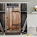 billige Dusjforheng-Dusjgardiner Neoklassisk polyester Arkitektur Maskinprodusert