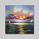 זול קופסאות טלוויזיה-iarts®abstract נופי צבעוני הנוף ציור שמן ציור הביתה