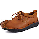 cheap Men's Oxfords-Men's Oxfords Spring / Summer / Fall / Winter Comfort Nappa Leather Office & Career / Party & Evening / Casual Flat Heel Brown