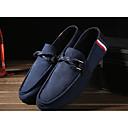 baratos Sapatilhas e Mocassins Masculinos-Homens Loafers de conforto Tecido Primavera / Outono Conforto / botas de desleixo Mocassins e Slip-Ons Caminhada Respirabilidade Preto / Vermelho / Azul