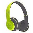 baratos Fones de Ouvido-P47 No ouvido Sem Fio Fones Dinâmico Plástico Celular Fone de ouvido Com controle de volume / Com Microfone / Isolamento de ruído Fone de