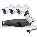 رخيصةأون مجموعات NVR-نظام الكاميرا الأمنية jooan® poe 4pcs 960p poe ip h.264 poe nvr (معايير الصناعة)