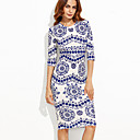 cheap Totes-Women's Going out Street chic Bodycon Dress Print