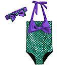 tanie Stroje kąpielowe dla dziewczynek-Brzdąc Dla dziewczynek Kreskówka Wielokolorowa Odzież kąpielowa