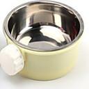 preiswerte Accessoires für Kleintiere-Nagetiere Metal Schalen & Wasser Flaschen Gelb Blau Rosa