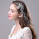 povoljno Dodaci za kosu-Biseri Trake za kosu / Ukosnica s 1 Vjenčanje / Special Occasion Glava