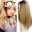 cheap Unprocessed Hair-synthetic wig cheap wigs ombre long wigs for women heat resistant hot sale sexy wavy synthetic fake hair wig