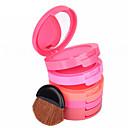 cheap Blush-5 Colors Powders Blush Coloured gloss / Long Lasting / Natural Face Makeup Cosmetic