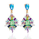 cheap Earrings-Women's Drop Earrings / Earrings - Purple / Blue / Rainbow For Wedding / Party / Daily