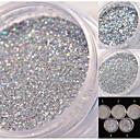 abordables Purpurina para Manicura-1 pcs Glitter y Poudre / Polvo Glitters / Clásico Diario