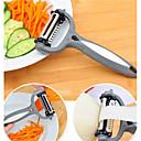 abordables Herramientas Para Vegetales y Verduras-Herramientas de cocina El plastico Cocina creativa Gadget Pelador y del rallador para vegetal