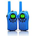 baratos Walkie Talkies-668462 Rádio de Comunicação Portátil Aviso De Bateria Fraca Função de Poupança de Energia VOX Codificação CTCSS/CDCSS Bloqueio de Teclado