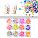 cheap Nail Glitter-12PCS Nail Art Decoration Rhinestone Pearls Makeup Cosmetic Nail Art Design
