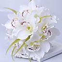 preiswerte Hochzeitsblumen-Hochzeitsblumen Sträuße Einzigartiges Hochzeits-Dekor Besondere Anlässe Seide 28 cm ca.