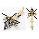 זול Building Blocks-GUDI אבני בניין 679 pcs טנק כלי טיס לוחם רמה מקצועית מגניב מסוק בנים בנות צעצועים מתנות