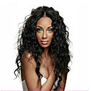 cheap Human Hair Wigs-Remy Human Hair Glueless Lace Front Lace Front Wig Brazilian Hair Water Wave Wig 150% 180% Density with Baby Hair Natural Hairline African American Wig 100% Hand Tied Women's Short Medium Length Long