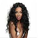 povoljno Auto cerade-Remy kosa Perika pune čipke bez ljepila / Full Lace Perika Water Wave Perika 130% Prirodna linija za kosu / Afro-američka perika / 100% rađeno rukom Žene Kratko / Medium / Dug Perike s ljudskom kosom