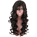 cheap Human Hair Wigs-Human Hair Glueless Lace Front Lace Front Wig Brazilian Hair Wavy Wig 130% 150% Density with Baby Hair Natural Hairline African American Wig 100% Hand Tied Women's Short Medium Length Long Human Hair