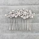 billige Camping Værktøj, Karabinkroge & Reb-Krystal Hair Combs med 1 Bryllup / Speciel Lejlighed Medaljon