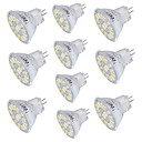 abordables Focos LED-10pcs 4W 350lm GU4(MR11) Focos LED 15 Cuentas LED SMD 5733 Decorativa Blanco Cálido Blanco Fresco 30V