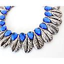 abordables Collares-Mujer Collar de hebras - Personalizado, Lujo, Europeo Azul Claro Gargantillas Para Fiesta, Ocasión especial, Pedida / Gema
