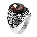povoljno Modno prstenje-Prsten prsten za palac Kristal Kava Kristal Legura Azijski Dnevno Kauzalni Jewelry Obrtnik
