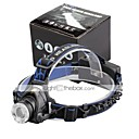 זול פנסים-2000 lm פנסי ראש / פנס קדמי לאופניים LED 3 מצב - U'King Zoomable / מיקוד מתכוונן / גודל קומפקטי