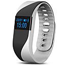 levne Chytré hodinky-Inteligentní náramek iOS Android iPhone Monitor pulsu Voděodolné Krokoměry zdraví Sledování vzdálenosti Dlouhá životnost na nabití