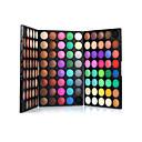 abordables Sombras de Ojos-120 colores Sombras de Ojos / Polvos Ojo Maquillaje de Diario Maquillaje Cosmético