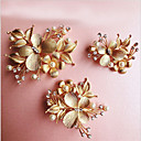 cheap Party Headpieces-Alloy Flowers 1 Wedding / Special Occasion Headpiece