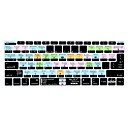billige Bottle Cage-xskn® mac os x snarvei silikon tastatur hud for 2016 nyeste non-touch bar macbook pro 13.3 med retina / macbook 12 (us / eu layout)