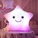 baratos Animais de Pelúcia-Estrela Iluminação de LED Brinquedos de Faz de Conta Animais de Pelúcia Fofinho Iluminação de LED Criativo Clássico Glamoroso & Dramático Desenho Tecido Para Meninas Brinquedos Dom