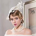 billige Moderinge-Hør / Fjer fascinators / Hatte med 1 Bryllup / Speciel Lejlighed / Afslappet Medaljon