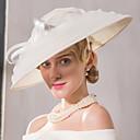 preiswerte Parykopfbedeckungen-Flachs Netz Kopfschmuck-Hochzeit Besondere Anlässe Freizeit Kopfschmuck Mützen 1 Stück