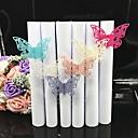 preiswerte Servietten für die Hochzeit-Pappe Papier Hochzeit Servietten - 40pcs Serviettenringe Hochzeit Jahrestag Geburtstag Verlobungsfeier Brautparty Bachelor-Partei