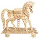olcso Ünnepi kellékek-Fából készült építőjátékok Ló szakmai szint Fa 1 pcs Fiú Ajándék