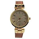 preiswerte Modische Uhren-Damen Armbanduhr Schlussverkauf / / PU Band Retro / Freizeit / Modisch Braun