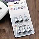 billige Eggeverktøy-6pcs glasur rør dyse kake dekorert Sugarcraft kringle tips verktøysett