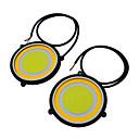 abordables Intermitentes para Coche-JIAWEN 2pcs Coche Bombillas 3.6W COB LED las luces exteriores / Luz de Trabajo / Luz de Intermitente