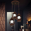 cheap Chandeliers-Rustic/Lodge Vintage Retro Country Globe Living Room Bedroom Dining Room AC 100-240 Bulb Not Included