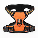 cheap Dog Collars, Harnesses & Leashes-Dog Harness Adjustable / Retractable Solid Nylon Black Orange Green