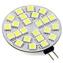preiswerte LED Einbauleuchten-3W 260lm G4 LED Doppel-Pin Leuchten T 24 LED-Perlen SMD 5050 Warmes Weiß Kühles Weiß 12V