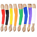 cheap Basketball-Unisex Protective Gear Arm Sleeves for Camping / Hiking Climbing Exercise & Fitness Badminton Basketball Football/Soccer Baseball Stretch
