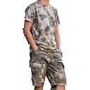 رخيصةأون ملابس الصيد-للرجال مجموعات الثياب الصيد / رياضة وترفيه مقاوم للماء / يمكن ارتداؤها / متنفس ربيع / خريف / شتاء ملابس الرياضة / ألبسة رياضية 2PCS