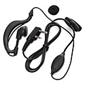 baratos Walkie Talkies-365 walkie-talkie fone de ouvido fone de ouvido fone de ouvido fone de ouvido acessível universal para baofeng 365 wanhua tyt hyt