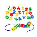 baratos Jogos Educativos de Matemática-Blocos de Construir 120pcs Brinquedos Unisexo Brinquedos Dom